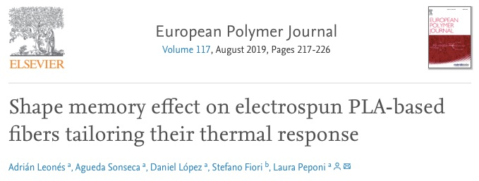 Shape_memory_effect_on_electrospun_PLA-based_fibers_tailoring_their_thermal_response_-_ScienceDirect